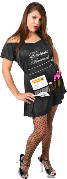 Sexy Deviant Housewife Costume