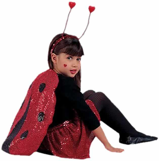 Toddler Glitzy Lady Bug Costume