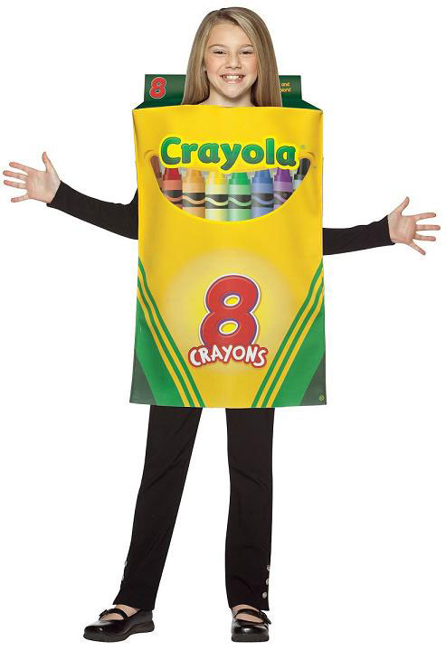 Child's Crayola Crayon Box Costume