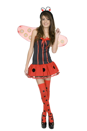 Child's Short Lady Bug Costume
