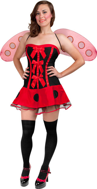 Teen Sexy Lady Bug Costume