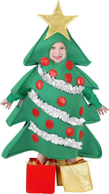 Child's Christmas Tree Costume