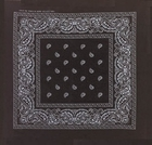 Black Paisley Bandanas Wholesale