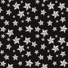 Black Nautical Stars Bandanas