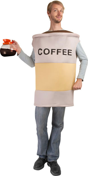 Adult Coffee Costume
