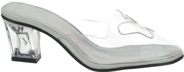 Child's Glass Costume Slippers