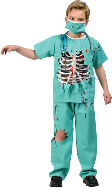 Child's Scary ER Doctor Costume