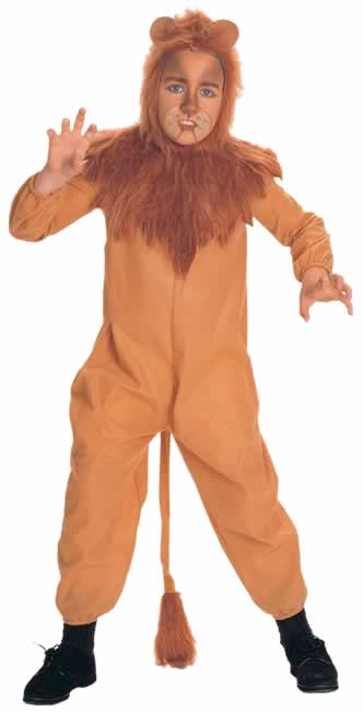 Child's Cowardly Lion Costume