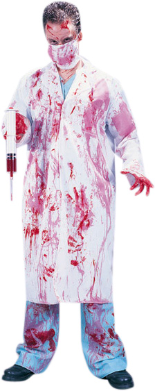 Adult Bloody Doctor Costume