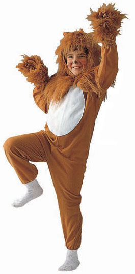 Child's Furry Lion Costume