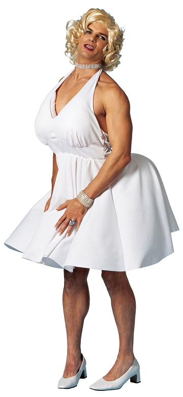 Men's Marilyn Monroe Costume
