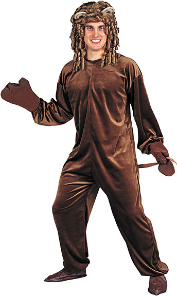 Adult Lion Jumpsuit Costume