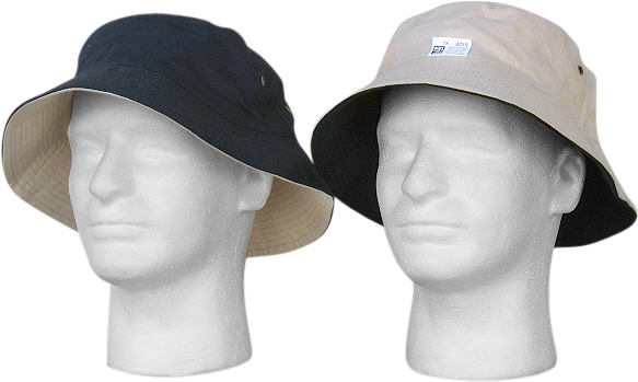 Adult Navy/Stonewash Reversible Bucket Hat