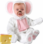 Baby White Mouse Costume