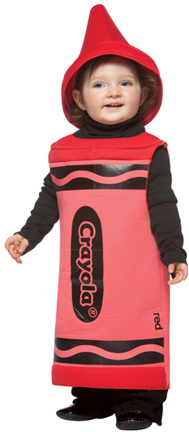 Toddler Red Crayola Costume