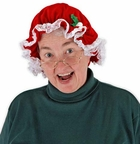 Mrs. Claus Costume Hat