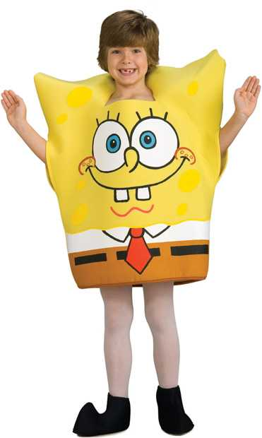 Child's Spongebob Squarepants Costume