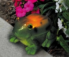 Solar Powered Frog Light