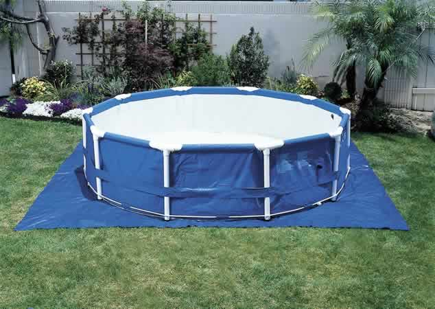 18' Square Pool Ground Cloth