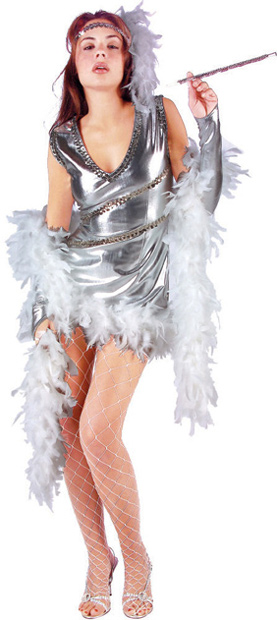 Sexy Dazzling 20s Girl Costume