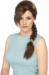 Adult Lara Croft Costume Wig