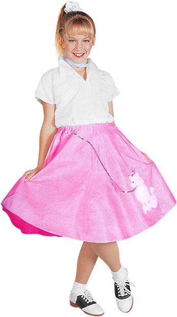 Child's 50's Girl Costume