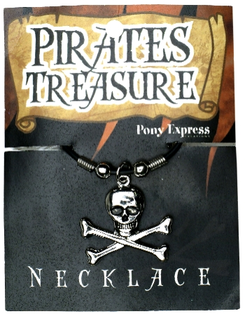Pirate Skull & Crossbones Necklace