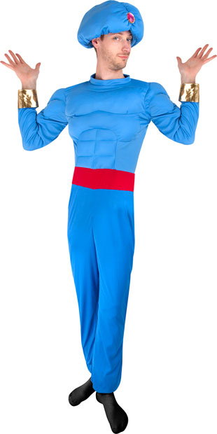 Men's Adult Blue Genie Costume