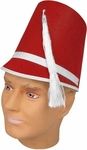 Red Drum Major Hat