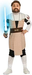 Child's Clone Wars Obi Wan Kenobi Costume