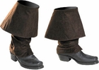 Adult Jack Sparrow Costume Boot Covers