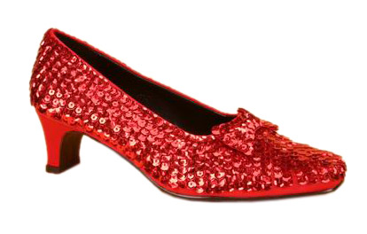 Child's Deluxe Dorothy Shoes