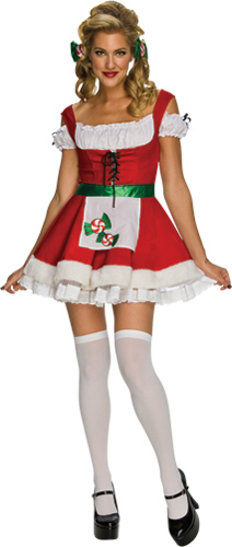 Sexy Christmas Candy Costume