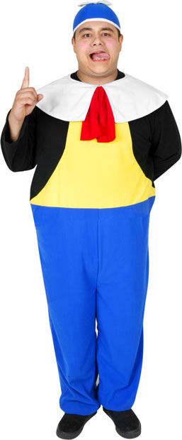 Adult Tweedle Dum Costume