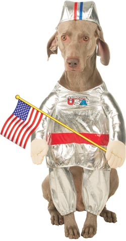 Astronaut Dog Costume