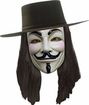 V For Vendetta Costume Wig