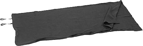 Black Fleece Sleeping Bag
