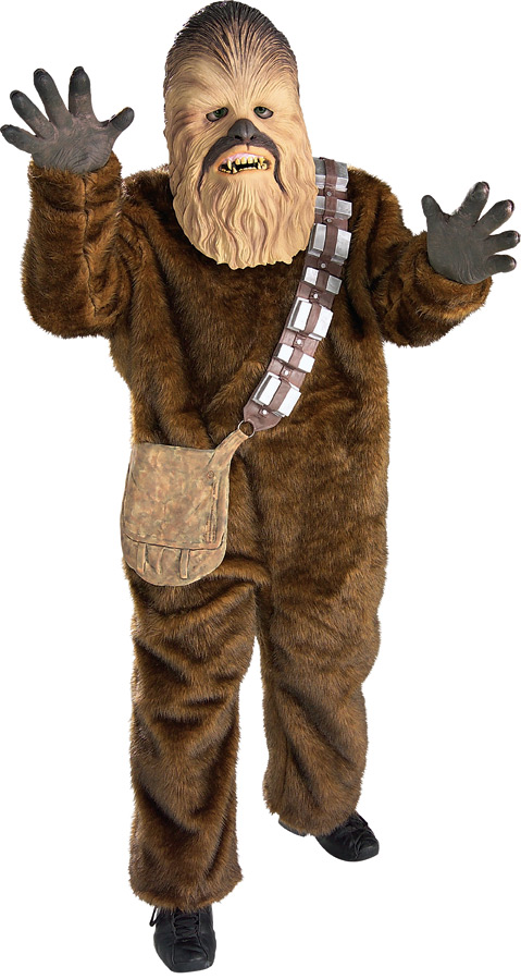 Child's Deluxe Chewbacca Costume