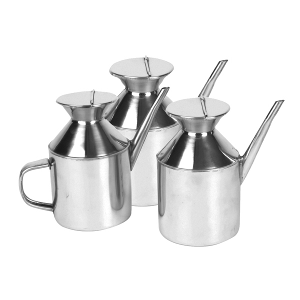 Round Stainless Steel Sauce Dispenser