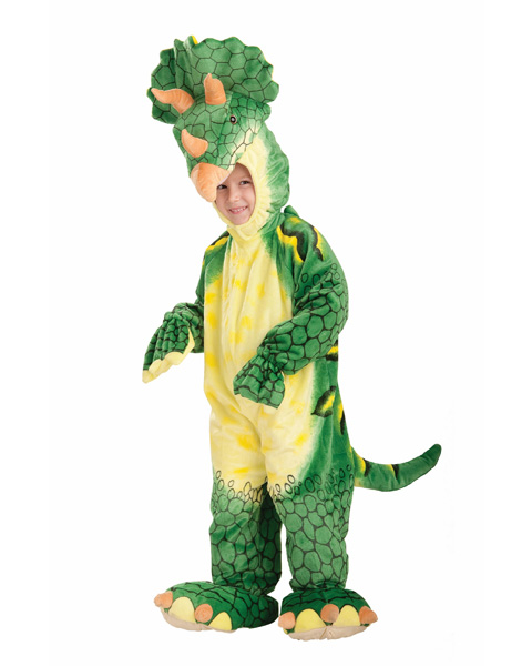 Toddler Plush Triceratops Costume