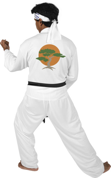 Adult Karate Kid Costume