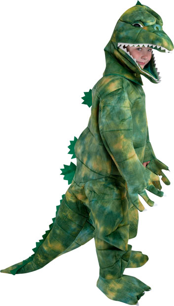 Child's Movie Lizard Costume