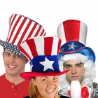 Adult Patriotic Hats