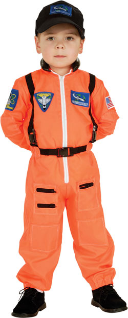 Child's Astronaut Flight Suit Costume