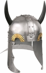 Horned Viking Helmet Armor