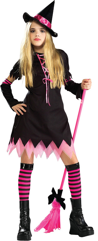 Preteen Black Magic Witch Costume