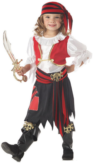 Toddler Penny The Pirate Girl Costume
