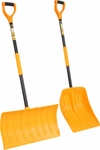 Heavy Duty Snow Pusher and Snow Shovel Set