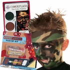 Camouflage Costume Makeup Kits