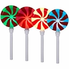 Lollipops Pathway Lights Christmas Decoration